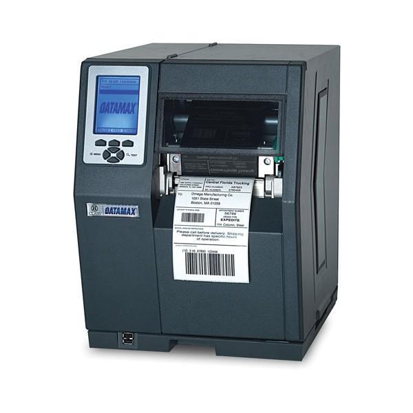 Datamax H-4310X - 4inch-300 DPI, 10 IPS, Bi-Directional TT Printer, 220v: EU and GB Plug, Internal Rewinder, PL-Z Emulation, 3.0inch Metal Media Hub