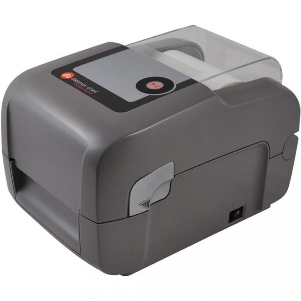 Datamax E-4204B, Direct Thermal 203dpi,4 ips, LED/Button UI, Netira config tool, Serial USB, Media Guide chute, European & British power cord-1