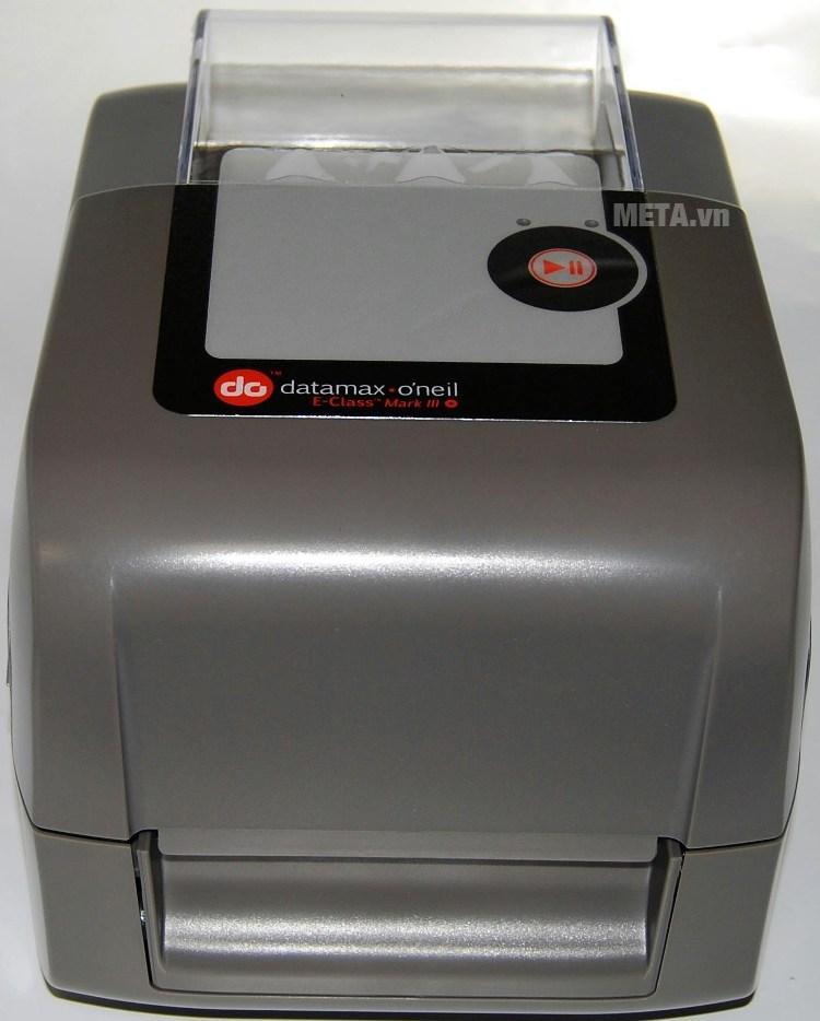 Datamax E-4204B,Direct Thermal 203dpi,4 ips,LED/Button UI,Serial USB,Media guide chute European&British power cord-1