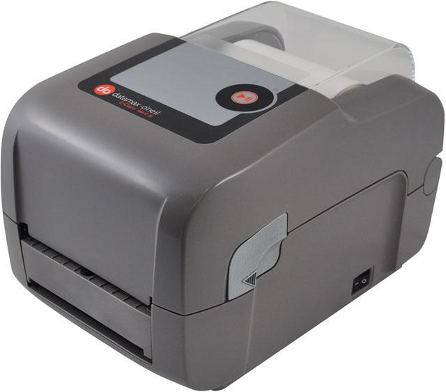 Datamax E-4205A, 203DPI, Adjustable Sensor, LED/Button UI, TT and DT, Autoranging PS w Italian cord, Netira, Serial/Parallel/USB/LAN