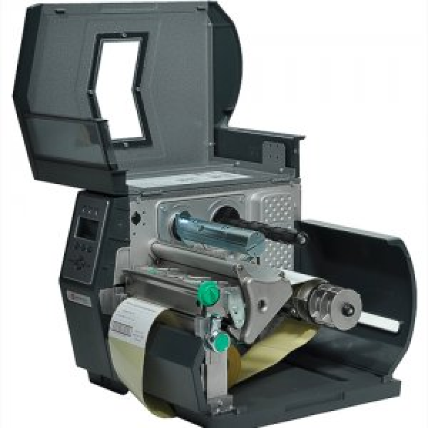 Datamax H-4606X - 4in-600 DPI,6 IPS,Datamax Std Kit,Bi-Directional TT,220v Black Power Cords, British And European,Internal Rewinder,3.0in Metal Media Hub-1