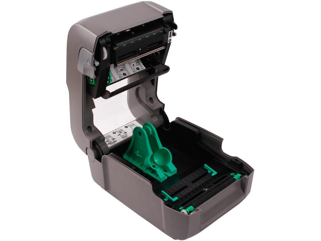 Datamax E-4204B, Direct Thermal 203dpi,4 ips, LED/Button UI, Netira config tool, Serial USB, Media Guide chute, European & British power cord