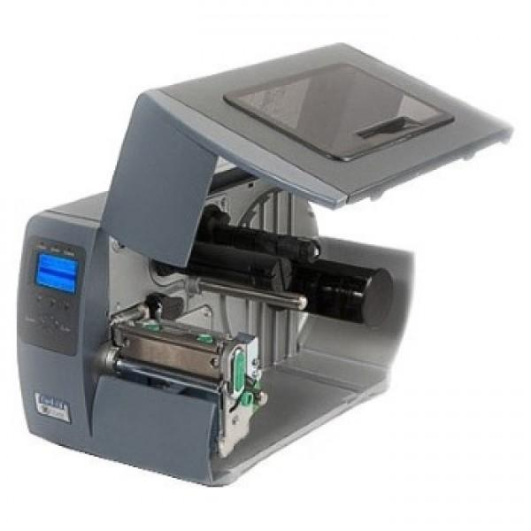 Datamax M-4210, 203DPI, GRAPHIC DISPLAY, 8MB FLASH, TT, EU & UK CORDS, PEEL & PRESENT WITH CENTER LABEL SENSOR WITH REWINDER, LAN, WITH MEDIA HANGER-1