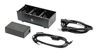EU Dual 3-slot Battery Charger (charges 6 x QL/QLn/P4T/ZQ5/ZQ6 battery)