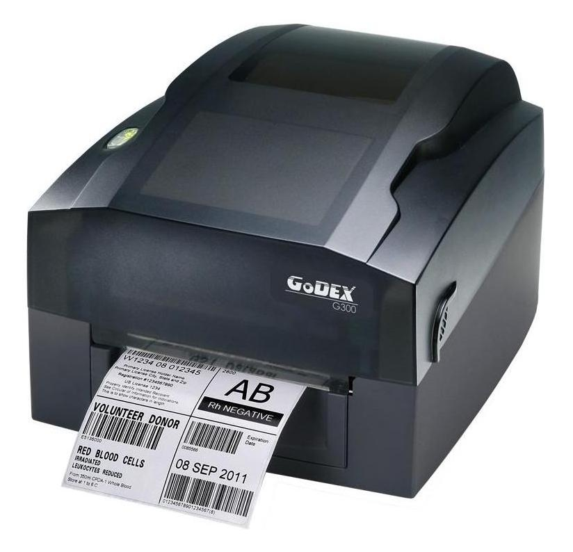 Термотрансферный принтер этикеток Godex G300 US (USB, RS-232)
