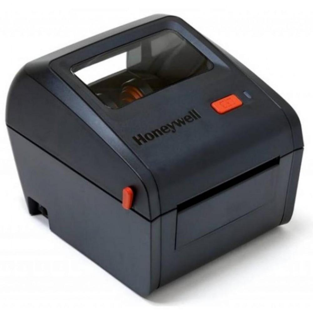 Honeywell PC42D, 203 dpi, USB+RS232+Ethernet, EU power cord