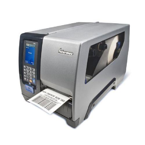 Термотрансферный принтер Intermec PM43,цвет. тач.дисплей, Ethernet, TT 203dpi, намотчик+отделитель