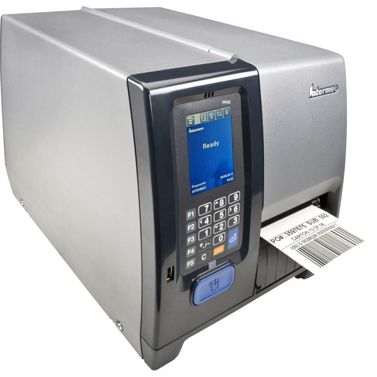 Intermec PM43 Compact Icon, ROW, Ethernet, Long Door, Hanger, DT 203dpi-1