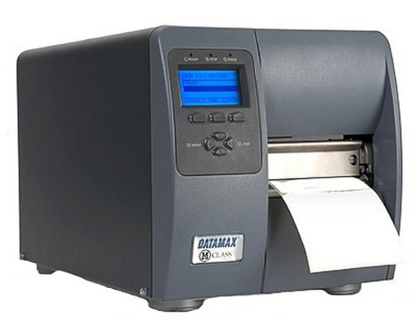 Datamax M-4210, 203DPI, GRAPHIC DISPLAY, 8MB FLASH, DT EU & UK Cord, Peel & Present with Internal rewinder, Cutter, Lan & 802,11, 3 inch media hub