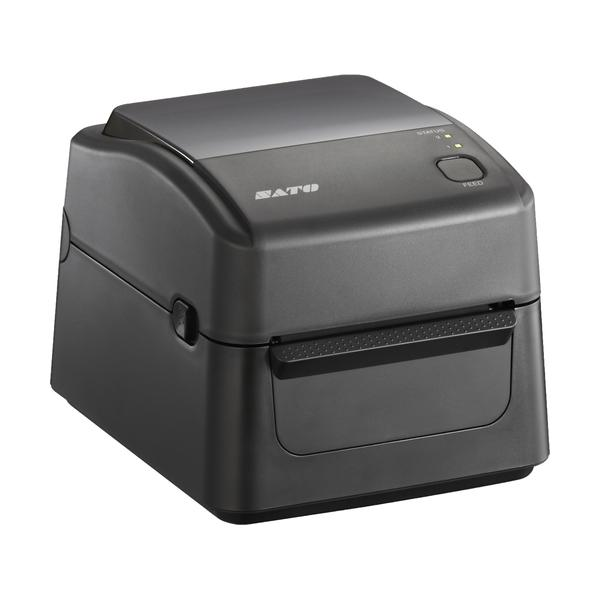 SATO WS412 DT-STD, 300 dpi with Cutter, USB, LAN + RS232C + EU power cable