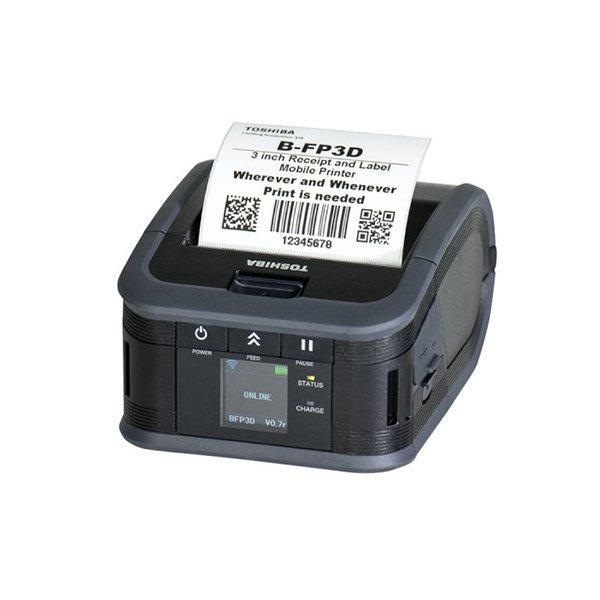 Мобильный принтер Toshiba B-FP3D (USB, Bluetooth. NFC)