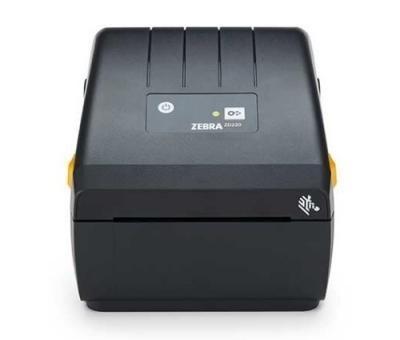 Zebra ZD230d Direct Thermal Printer ZD230; Standard EZPL, 203 dpi, EU and UK Power Cords, USB, Dispenser (Peeler)-1