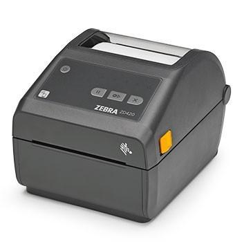 Термопринтер этикеток Zebra ZD420d 300 dpi, USB, USB Host, WiFi, BT [ZD42043-D0EW02EZ]