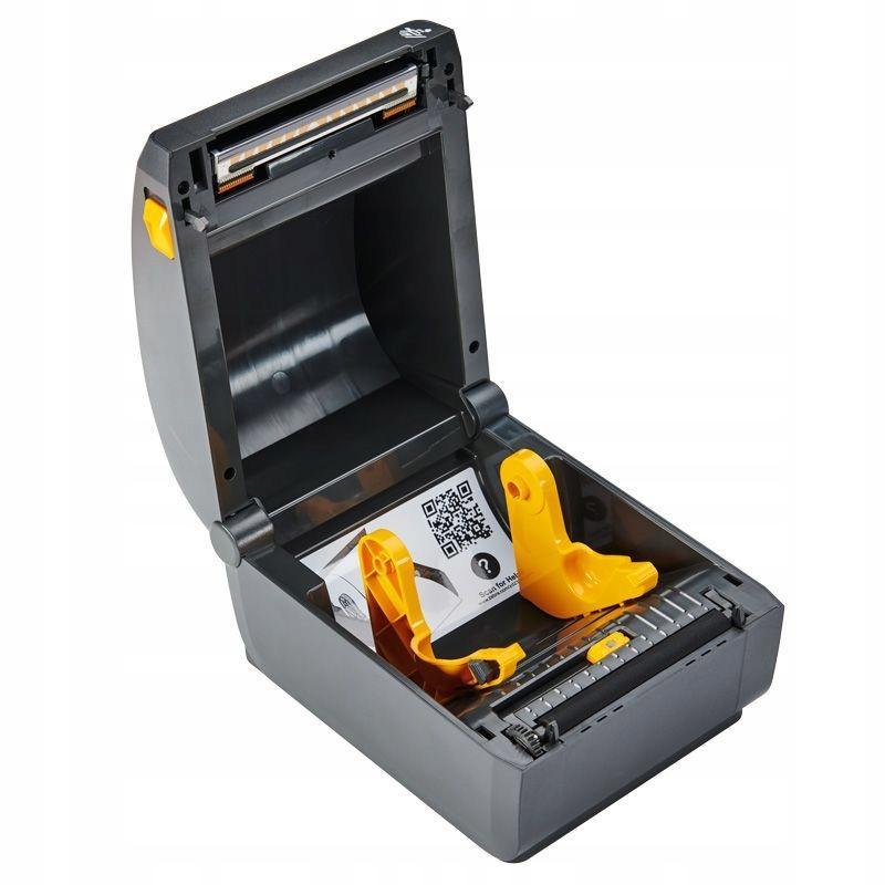 Zebra ZD230d Direct Thermal Printer ZD230; Standard EZPL, 203 dpi, EU and UK Power Cords, USB, Cutter-2