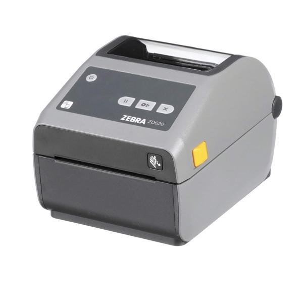 Термопринтер этикеток Zebra ZD620d 300 dpi, USB, USB Host, BTLE, RS232, Ethernet, Cutter [ZD62043-D2EF00EZ]