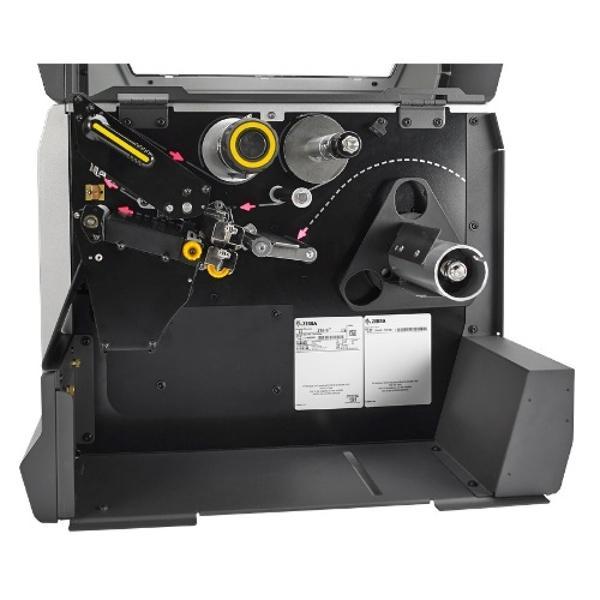 "Zebra TT Printer ZT610; 4"", 203 dpi, Euro and UK cord, Serial, USB, Gigabit Ethernet, Bluetooth 4.0, USB Host, Tear, RFID UHF Encoder, Color, ZPL-3"