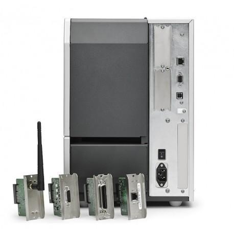 "Zebra TT Printer ZT610; 4"", 203 dpi, Euro and UK cord, Serial, USB, Gigabit Ethernet, Bluetooth 4.0, USB Host, Tear, RFID UHF Encoder, Color, ZPL-6"