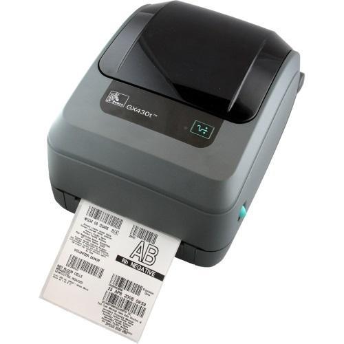 Zebra GX430t; 300dpi, USB, RS232, 802.11b/g, LCD-1