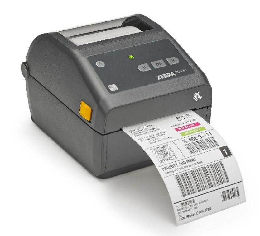 Термопринтер этикеток Zebra ZD420d 300 dpi USB [ZD42043-D0EE00EZ]-2