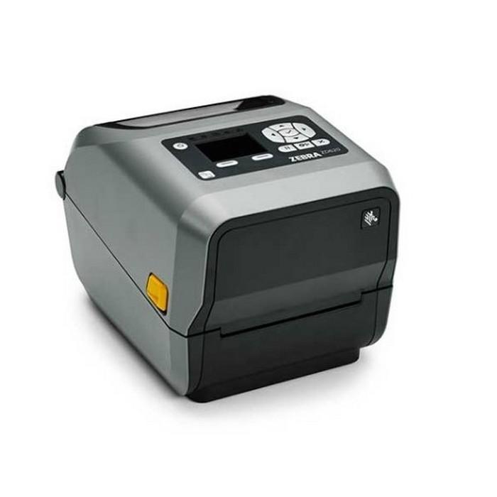 Термотрансферный принтер Zebra ZD620t 203 dpi, USB, USB Host, RS232, Ethernet, WiFi, BT, Dispenser (Peeler), LCD display [ZD62142-T1EL02EZ]