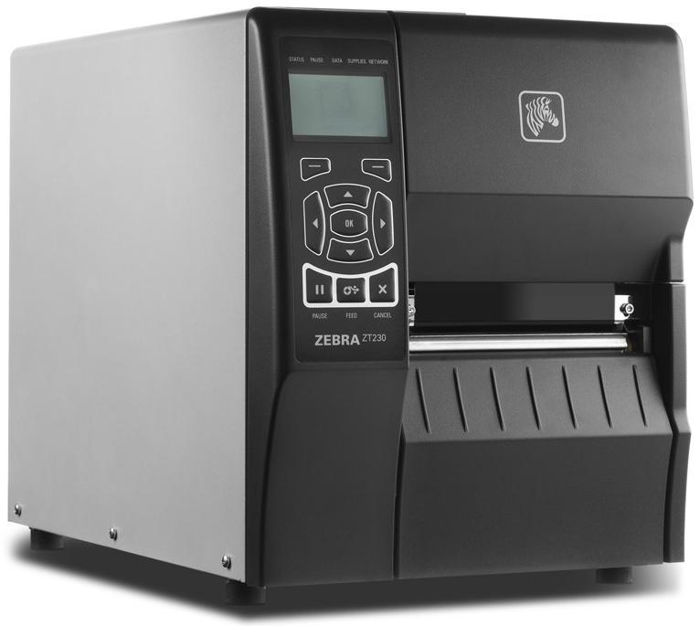 Zebra ZT230 TT 203 dpi, RS232, USB, Int 10/100-2