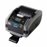 SATO PW208NX 203 dpi with battery, USB, Bluetooth, WLAN, Dispenser, Linerless media operation, Belt Clip